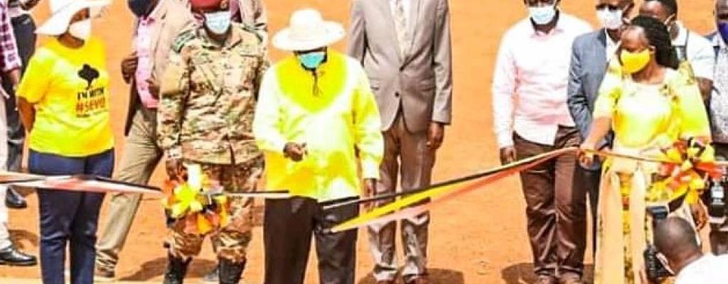 His excellence Mr Yoweri Kaguta Museveni